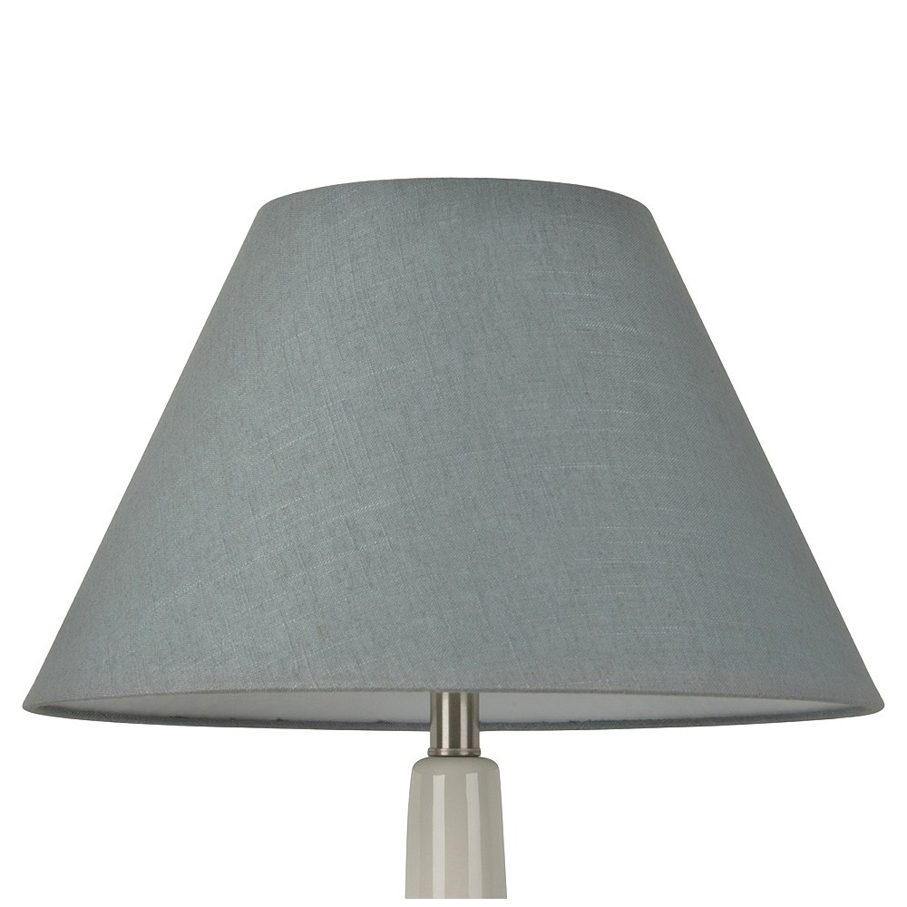 Linen Empire Large Lamp Shade Blue - Threshold
