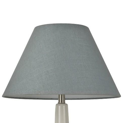 655a511cc5b Linen Empire Lamp Shade Blue - Threshold™   Target