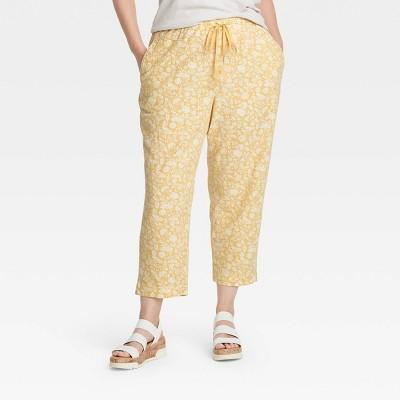 Women's High-Rise Lounge Pants - Universal Thread™ Floral Print