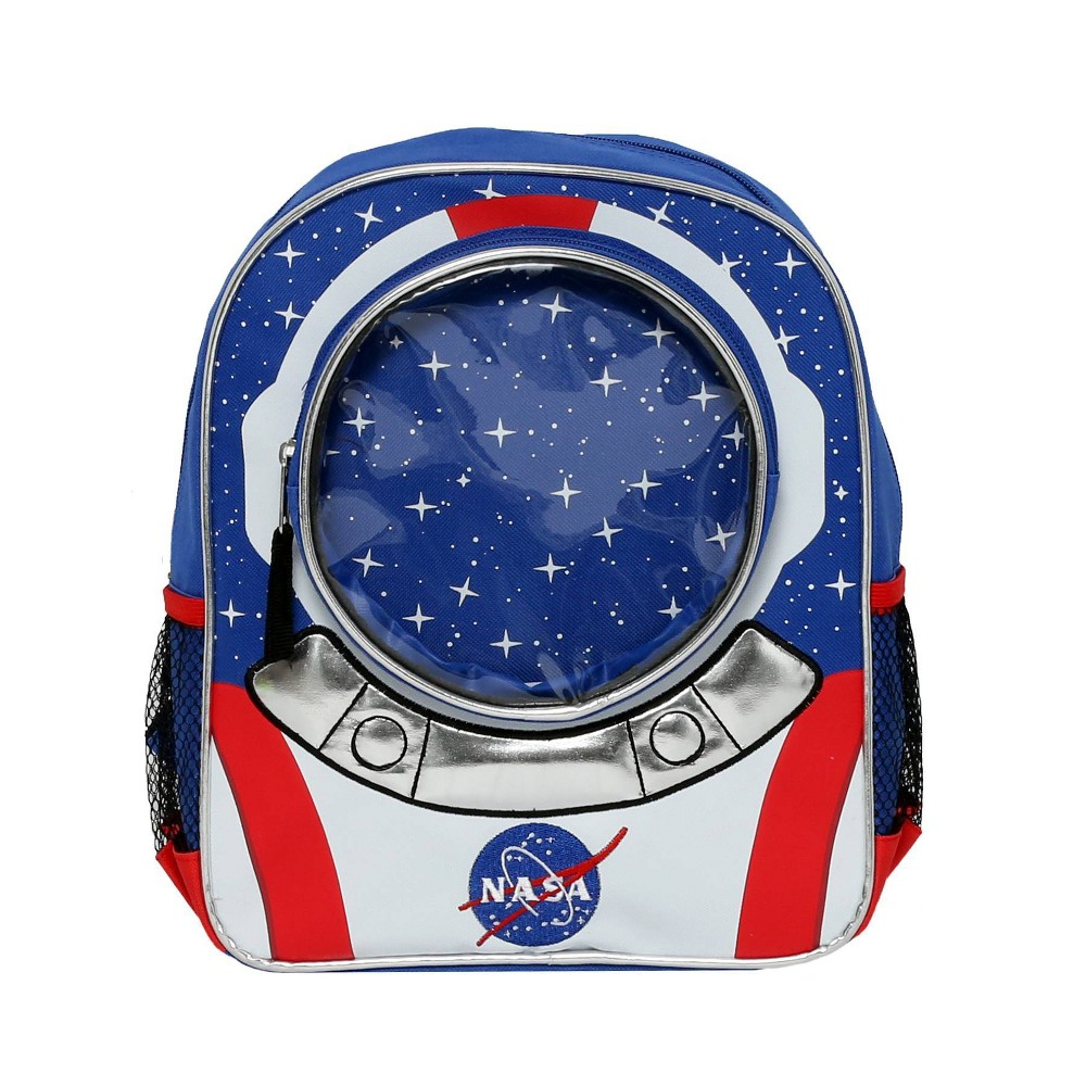 "Image of ""Accessory Innovations NASA 12"""" Kids' Backpack, Blue"""