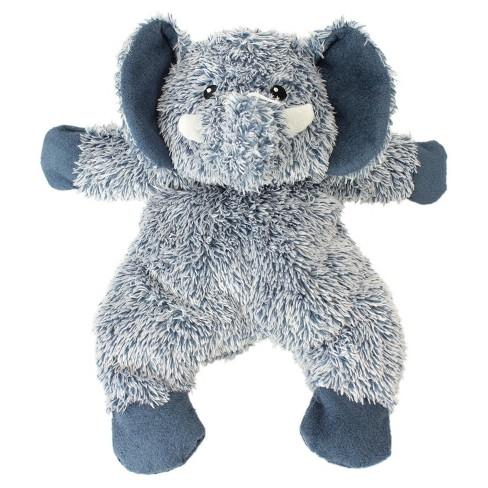 Cuddle & Toss Elephant Plush Squeaks Dog Toy - Blue - L - Boots & Barkley™ - image 1 of 5