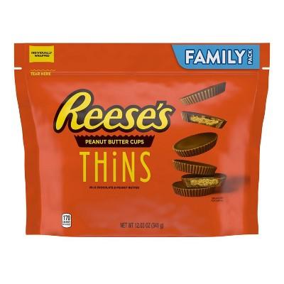 Reese's Family Thins Milk - 12.3oz