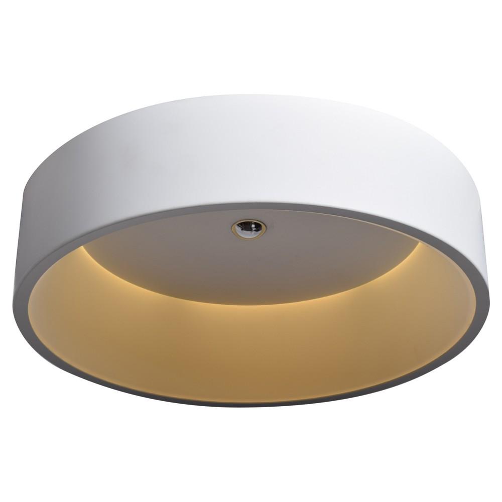 Radiant Led Flush Mount - White - Acrylic Lens Diffuser