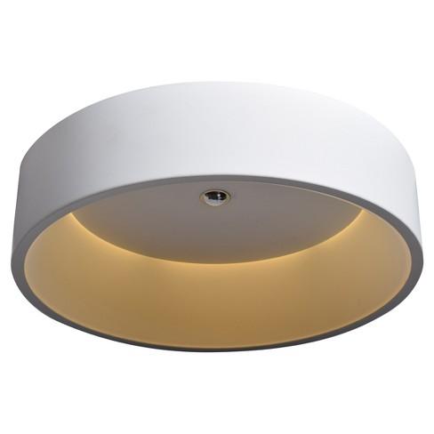 Radiant LED Flush Mount - White - Acrylic Lens Diffuser - image 1 of 4