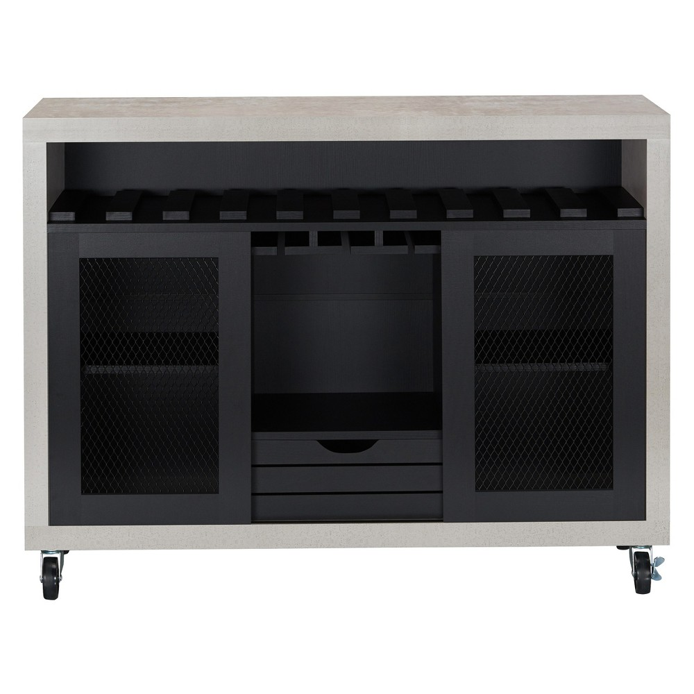 Iohomes Willis Industrial Dining Buffet Black - Homes: Inside + Out