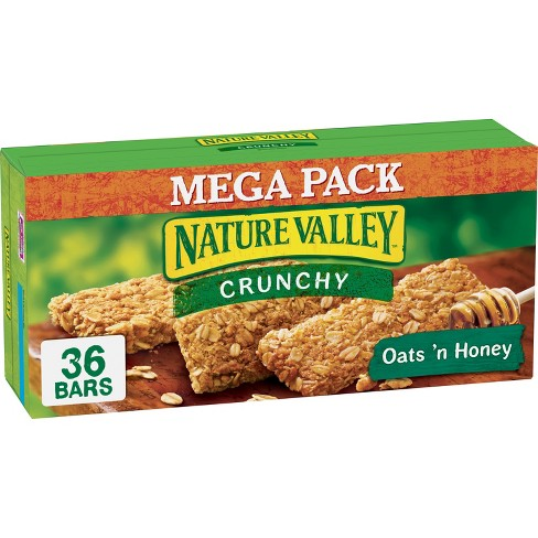 Nature Valley Crunchy Oats 'n Honey Granola Bars - 36ct - image 1 of 2