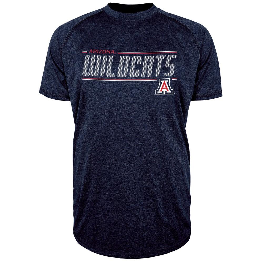 Arizona Wildcats Men's Team Speed Poly Performance T-Shirt XL, Multicolored