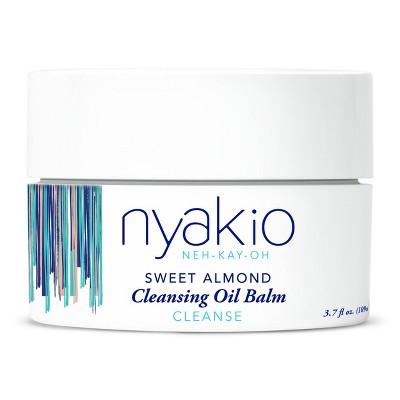 nyakio Sweet Almond Cleansing Oil Balm - 3.7 fl oz