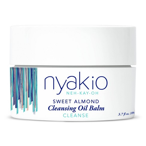 nyakio Sweet Almond Cleansing Oil Balm - 3.7 fl oz - image 1 of 4