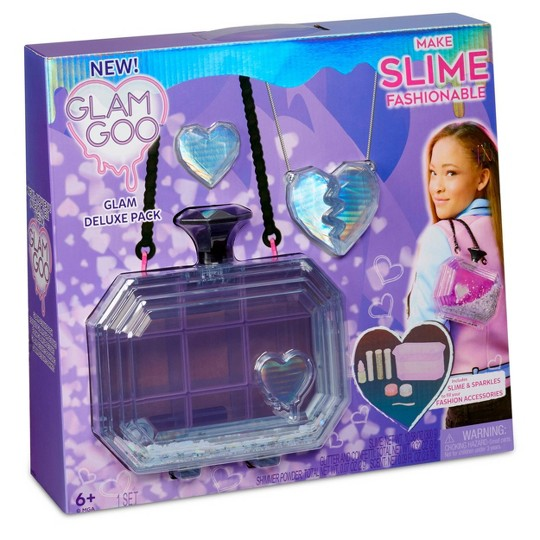 Glam Goo Deluxe Pack with Slime and Fashion Accessories image number null