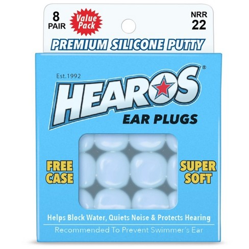 Hearos Silicone Putty Ear Plug - 8 pair - image 1 of 1