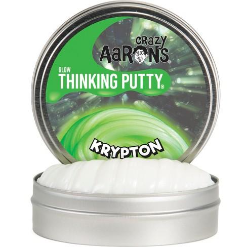 "Crazy Aaron's Thinking Putty 4"" Krypton Tin - image 1 of 3"