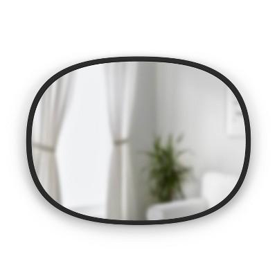 """18"""" x 24"""" Oval Hub Decorative Wall Mirror - Umbra"""