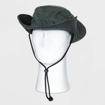 Men's Bonnie Hat with Blue Cord - Goodfellow & Co™ Olive Green L/XL