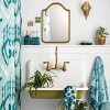 Glass Toothbrush Holder Teal Blue - Opalhouse™ - image 3 of 4