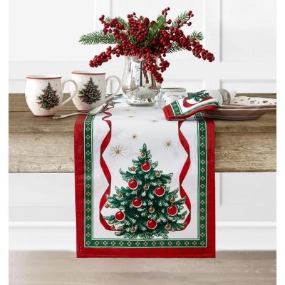 Villeroy & Boch Toy's Delight Engineered Table Runner - Red/Green - 13x70 - Villeroy & Boch