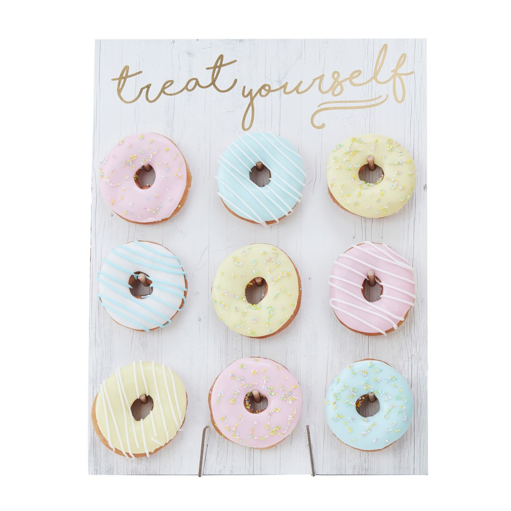 Ginger Ray Treat Yourself Donut Wall Pick And Mix, Multi-Colored