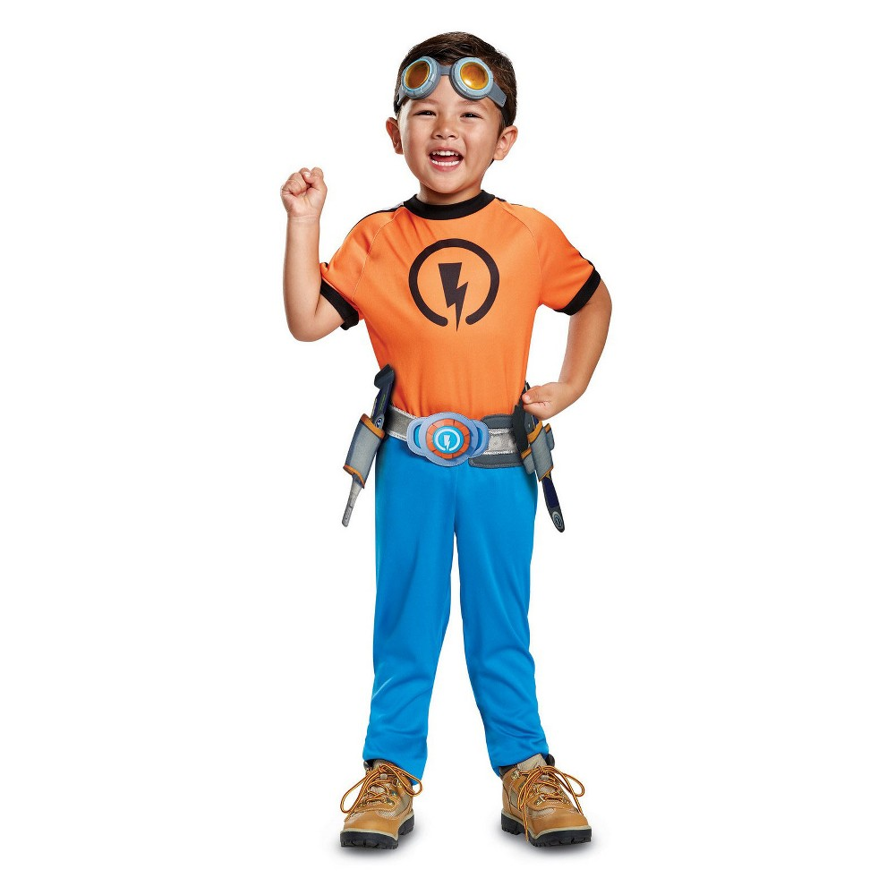 Image of Halloween Kids' Rusty Rivets Rusty Halloween Costume S, Men's, Size: Small, MultiColored