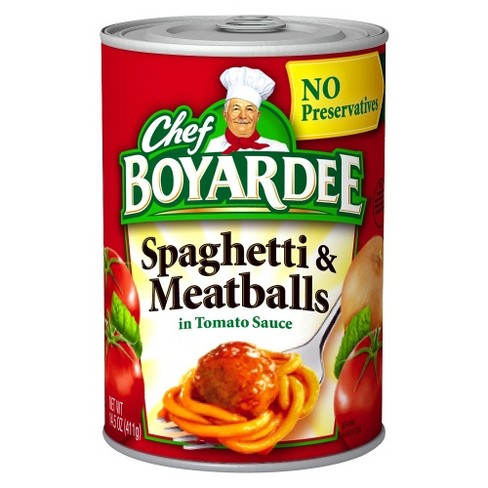 Chef Boyardee Spaghetti & Meatballs 14.5 oz - image 1 of 1