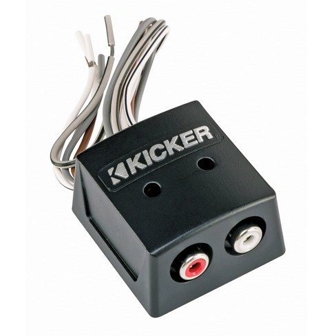 Kicker 10KISLOC K-Series 10-Channel Speaker Wire-to-RCA Line Output Converter