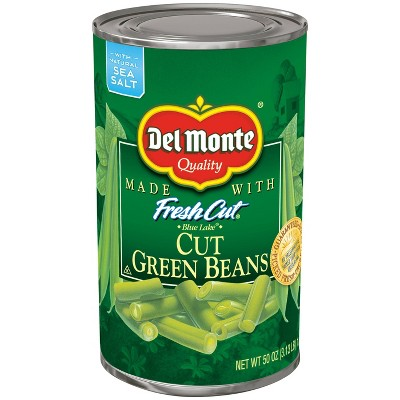 Del Monte Fresh Cut Green Beans 50oz
