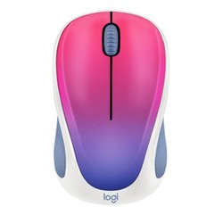 Logitech M317 Mouse - Blue Blush