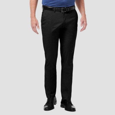 Haggar Men's Premium No Iron Slim Fit Flat Front Casual Pants