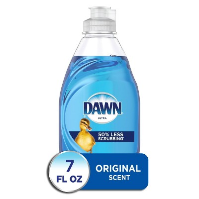 Dawn Ultra Dishwashing Liquid Dish Soap, Original Scent - 7 fl oz