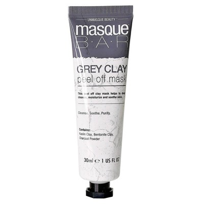 Masque Bar Clay Peel Off Mask - Gray - 1 fl oz