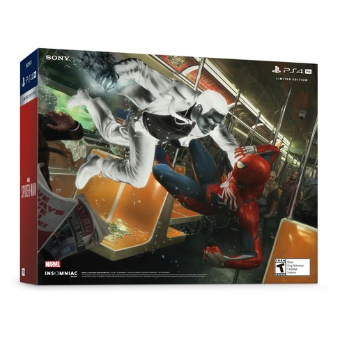 PlayStation 4 Pro 1 TB Marvel's Spider-Man Limited Edition Bundle
