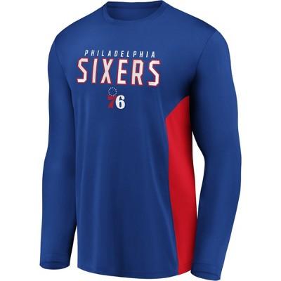 NBA Philadelphia 76ers Men's Synthetic Long Sleeve T-Shirt