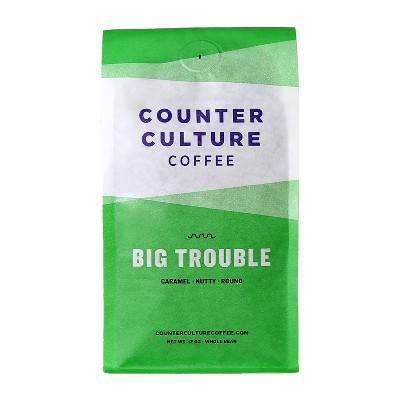 Counter Culture Big Trouble Medium Roast Whole Bean Coffee - 12oz