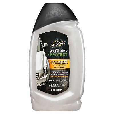 Car Wash Soap & Shampoo: Armor All Wash & Wax + Protect