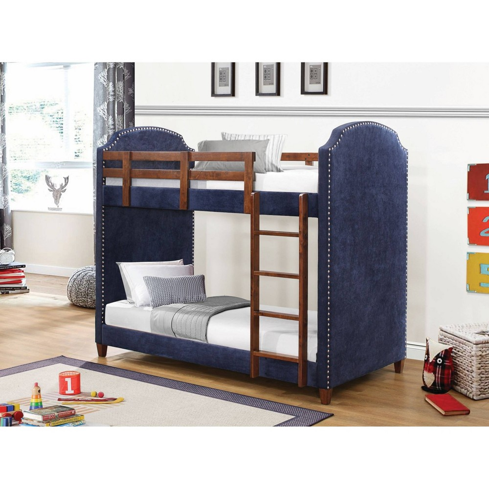 Twin Audrey Bunk Bed Navy (Blue) - Private Reserve