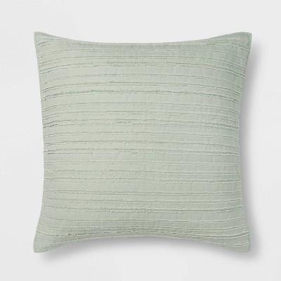 Clipped Texture Quilt Sham - Threshold™