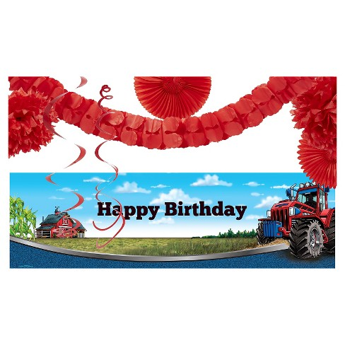 Farm Tractor Décor Kit - image 1 of 1