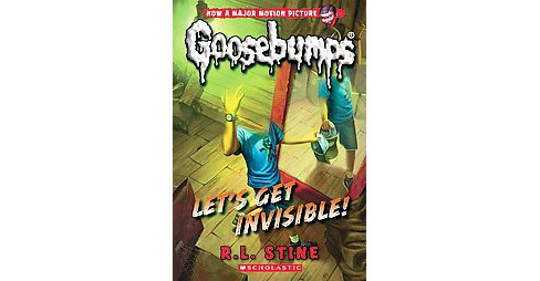 Let's Get Invisible! (Reprint) (Paperback) (R. L. Stine) - image 1 of 1