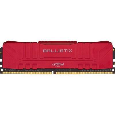 Crucial Ballistix Gaming Memory - For Computer - 16 GB (2 x 8 GB) - DDR4-3000/PC4-24000 DDR4 SDRAM - CL15 - 1.35 V - Non-ECC - Unbuffered - 288-pin