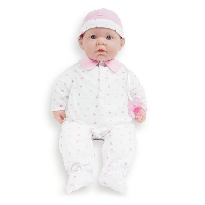 """JC Toys La Baby 20"""" Baby Doll - Pink Outfit"""