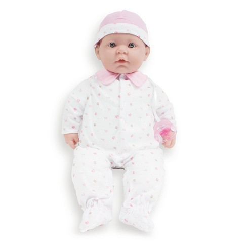 "JC Toys La Baby 20"" Soft Body Baby Doll - Pink - image 1 of 8"
