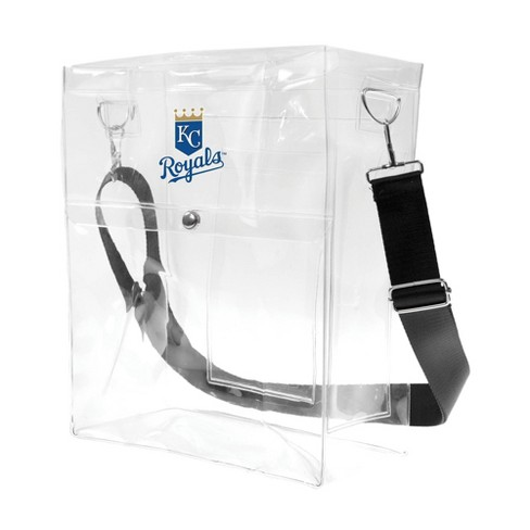 MLB Kansas City Royals Clear Ticket Satchel - image 1 of 4