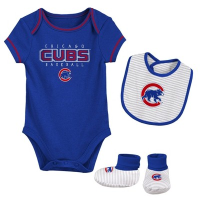 MLB Chicago Cubs Baby Boys' Short Sleeve Layette Set
