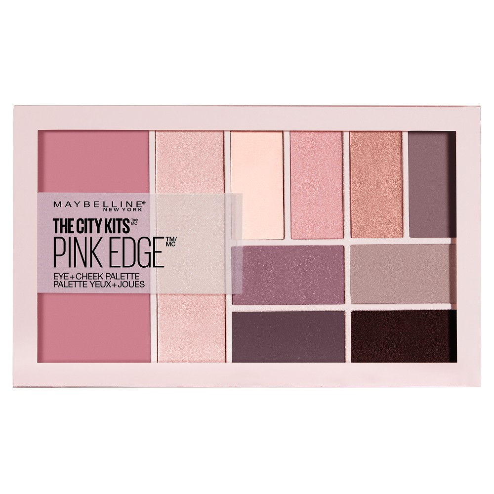 Maybelline The City Kits All-in-One Eye & Cheek Palette Pink Edge- 0.42oz, Pink Edge