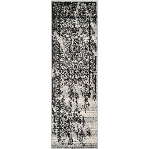"""Addaneye Runner - Silver/Black (2'6""""x18') - Safavieh® - image 1 of 4"""