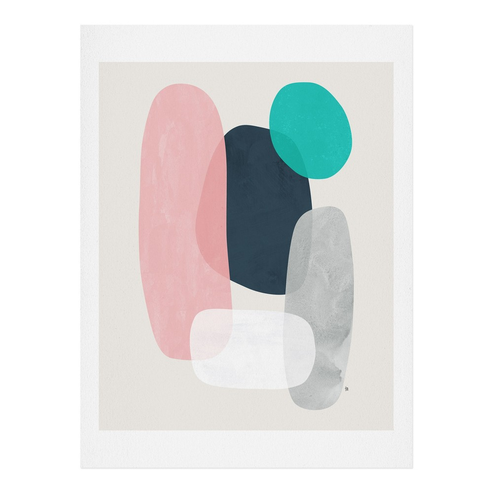 "Image of ""11"""" x 14"""" Tracie Andrews Enyo Wall Art Print Pink - society6"""