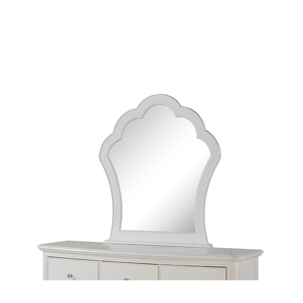 Image of Cecilie Kids Dresser Mirror - White - Acme