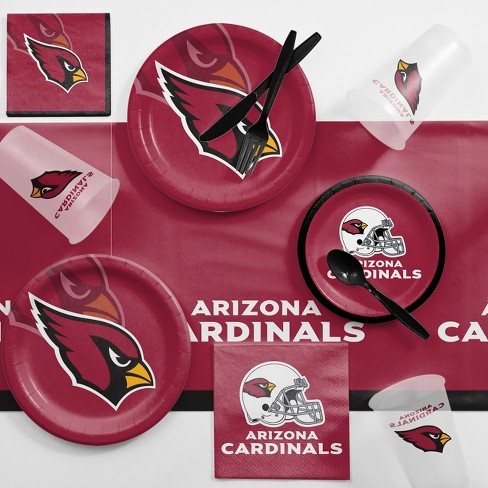 NFL Maroon Arizona Cardinals Game Day Party Supplies Kit - image 1 of 1