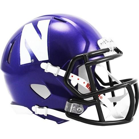 "NCAA Northwestern Wildcats 4.5""x5"" Speed Mini Helmet - image 1 of 1"