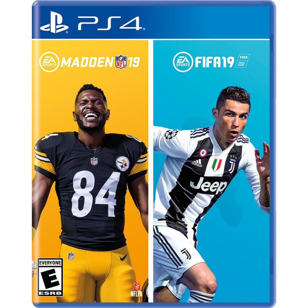 Madden NFL 19 / Fifa 19 Bundle - PlayStation 4