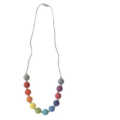 Itzy Ritzy Rainbow Teething Necklace